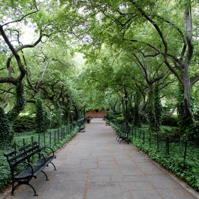 conservatory garden, central park, nyc